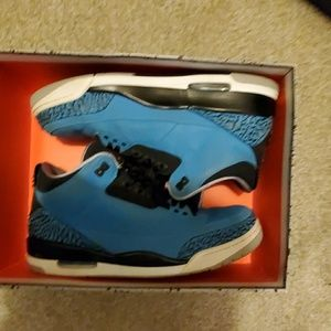 "Air Jordan retro 3"" powder blue"""